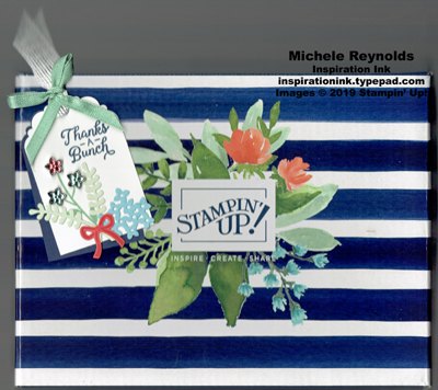 Beautiful bouquet flower gem bouquet tag watermark
