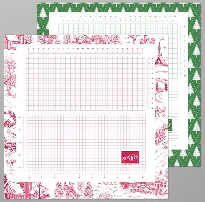 Seasonal grid paper