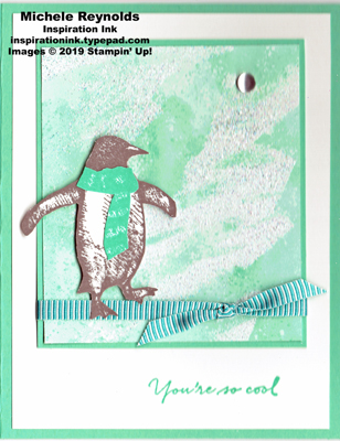 Playful penguins iced penguin swap watermark