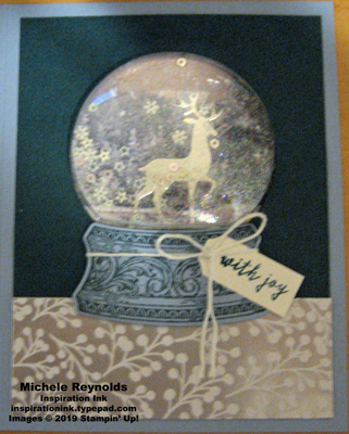 Still scenes deer snowglobe joy watermark