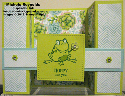 So hoppy together bridge fold frog