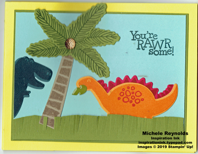 Dino days dinosaur scene wiper closed watermark