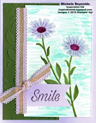 Daisy lane no line watercolor daisies watermark