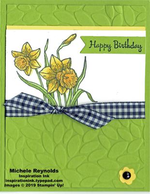 You're inspiring daffodils birthday watermark