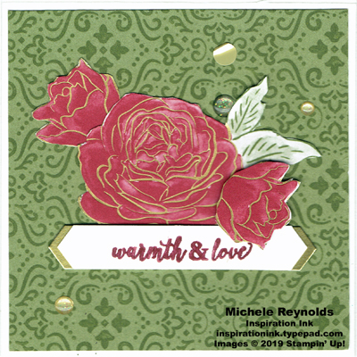 Christmas rose warmth and love roses watermark