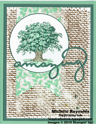 Lovely as a tree amazing burlap tree watermark
