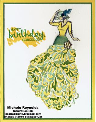 Beautiful you green swirl dress watermark