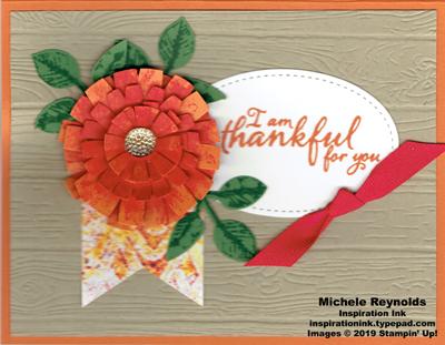Painted harvest crysanthemum thankful watermark