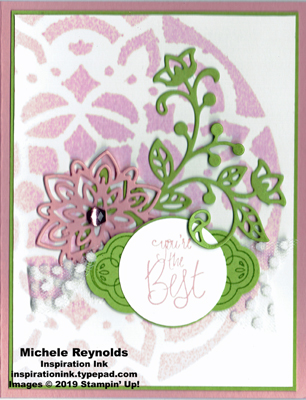 Label me pretty best flourish medallion watermark