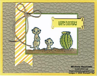 The gang's all meer desert scene birthday watermark
