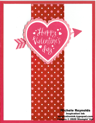 Heartfelt simple valentine watermark