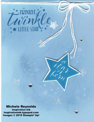 Little twinkle seaside star watermark