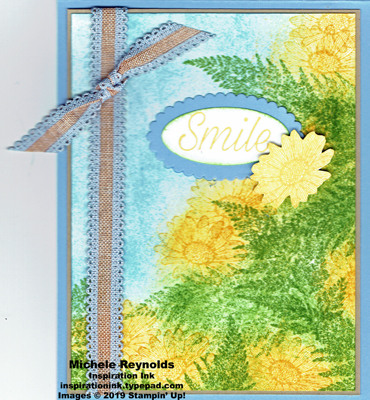 Daisy lane bank of daisies watermark