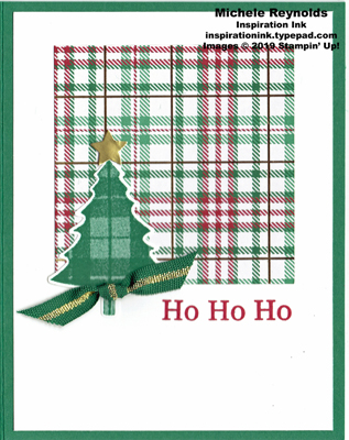 Perfectly plaid simple plaid tree watermark