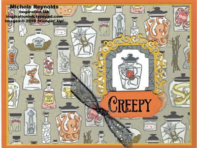 Spooktacular bash creepy jars watermark
