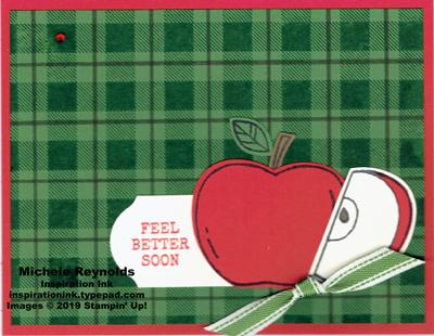 Harvest hellos apple plaid watermark