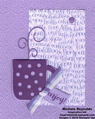 Cup of christmas purple mug enjoyment watermark