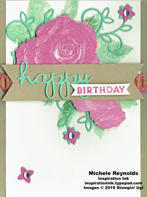Christmas rose birthday roses watermark