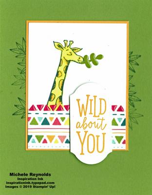 Animal outing wild giraffe watermark