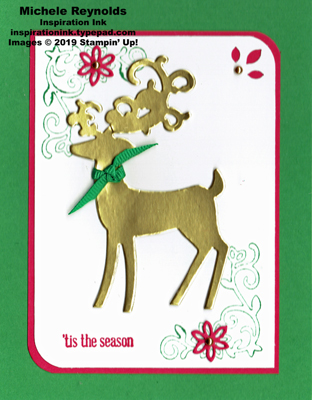 Itty bitty greetings golden deer season watermark