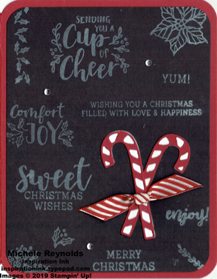 Cup of christmas candy cane chalkboard watermark