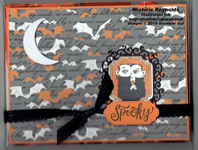 Spooktacular bash spooky vampire goody box watermark
