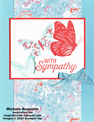 Butterfly wishes butterfly trio sympathy watermark
