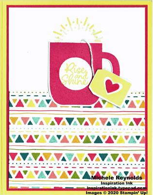 Rise & shine sunny mug watermark