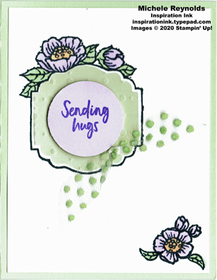 Tags in bloom soft posy hugs watermark