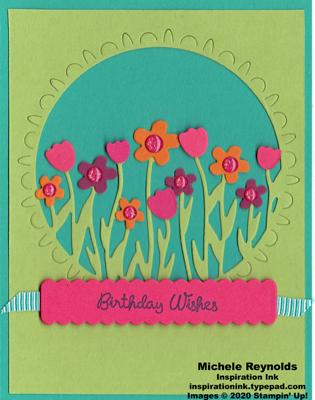 Varied vases spring garden birthday wishes watermark