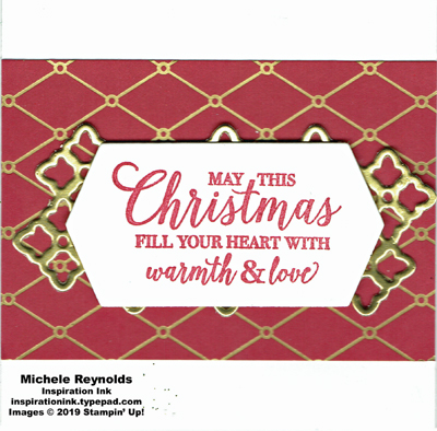 Christmas rose lattice warmth and love watermark