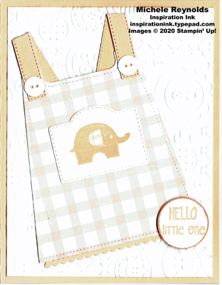 Little elephant pink plaid sundress watermark