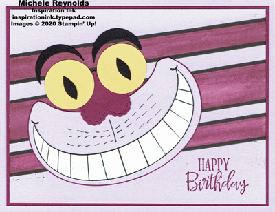 Peaceful moments cheshire cat birthday watermark