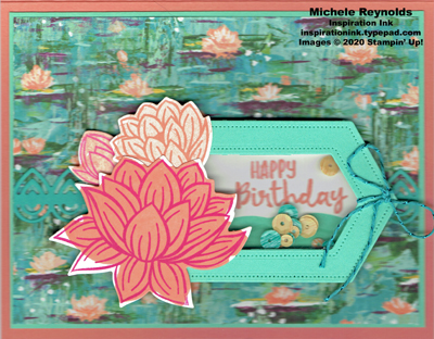 Lovely lily pad shaker lilies watermark