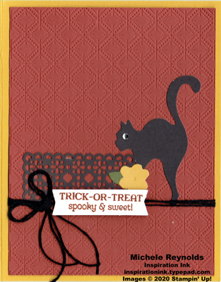 Paper pumpkin hello pumpkin black cat treat watermark