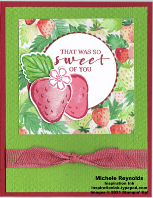Sweet strawberry sweet of you strawberries watermark