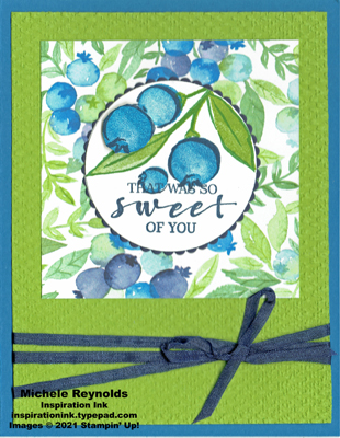 Sweet strawberry sweet of you blueberries watermark