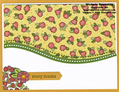 Ornate syle curvy flower field thanks watermark