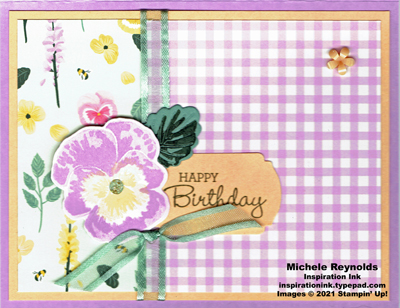 Pansy patch freesia pansy birthday watermark