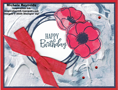 Painted poppies wraf poppy birthday watermark