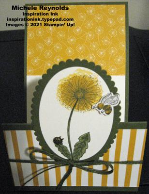 Garden wishes dandelion fun fold open