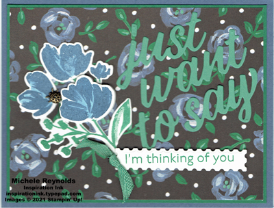 Art gallery blue roses thoughts watermark