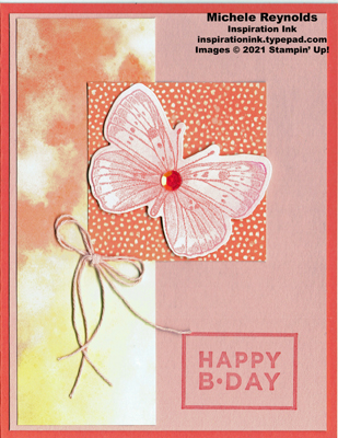 Butterfly brilliance butterfly square birthday watermark