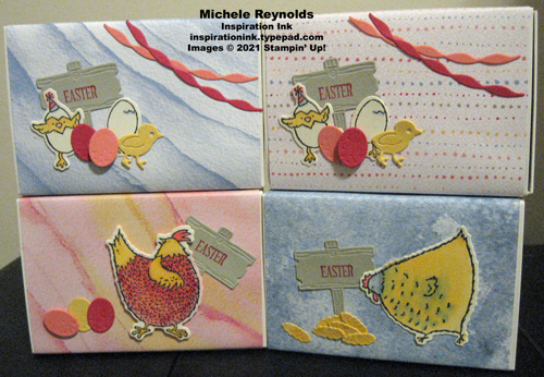 Hey birthday chick easter treats boxes