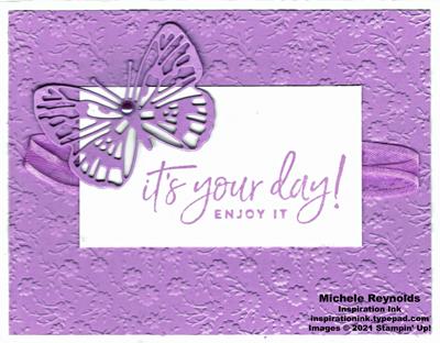 Happiest of birthdays freesia butterfly day watermark