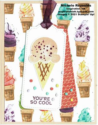 Sweet ice cream cool cone tags watermark