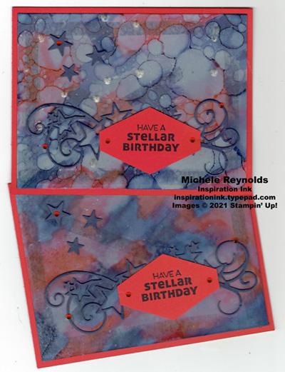 Stellar birthday starburst birthday watermark