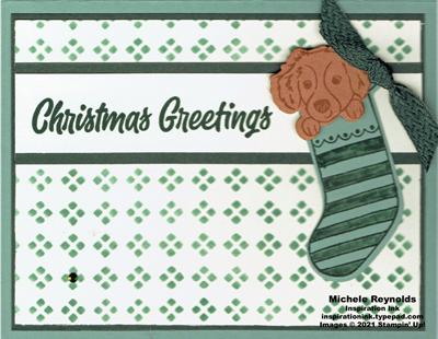 Sweet little stockings pet stocking dog greetings watermark