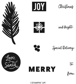 Love santa tag kit set