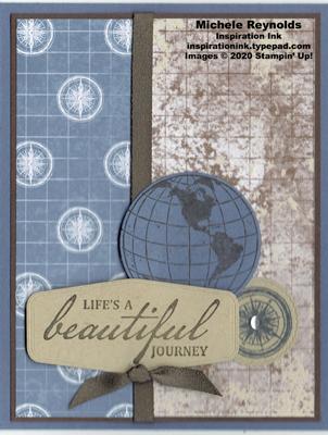 Beautiful world masculine journey watermark